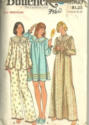 Granny gown for Simplicity craft pattern 4993