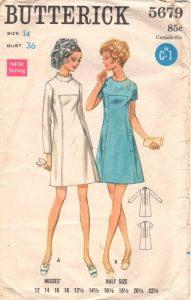 Butterick 5679 Mod Dress