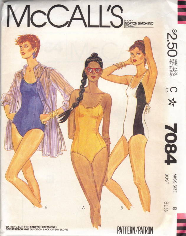 vintage swimsuit patterns eBay