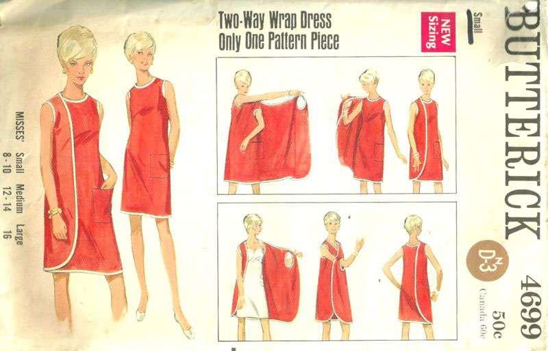 Как сшить платье-халат с запахом