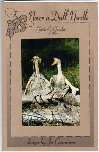 Stuffed Goose Sewing Pattern Gertie & Gander 15 Inch Geese Soft Toy ...