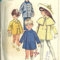 simplicity 8069 girls coat
